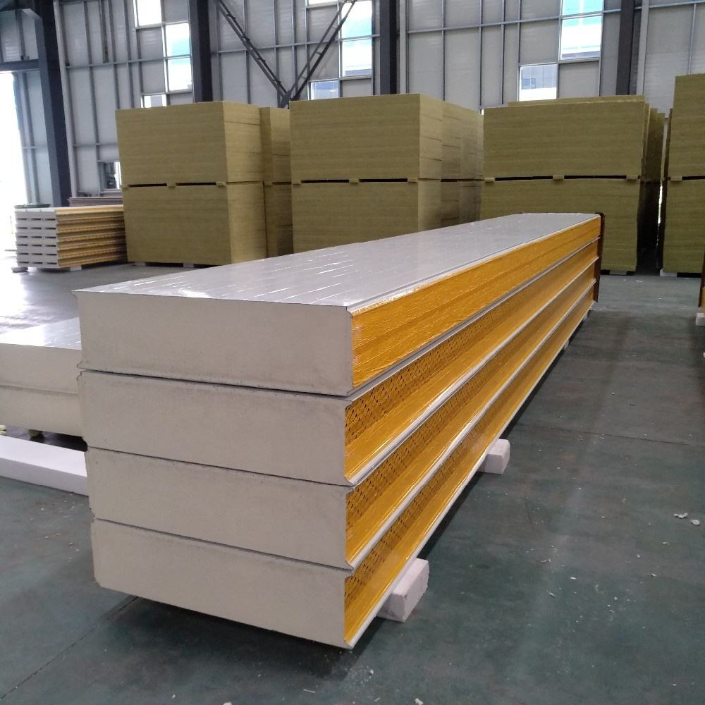SIP Foam Insulation PUR/PIR/PU Sandwich Panels for Wall/Roof/Ceiling