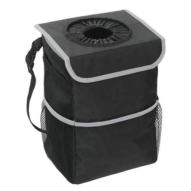 Waterproof Car Trash Can / Car Vehicle Back Seat Headrest Litter Trash Garbage Bag