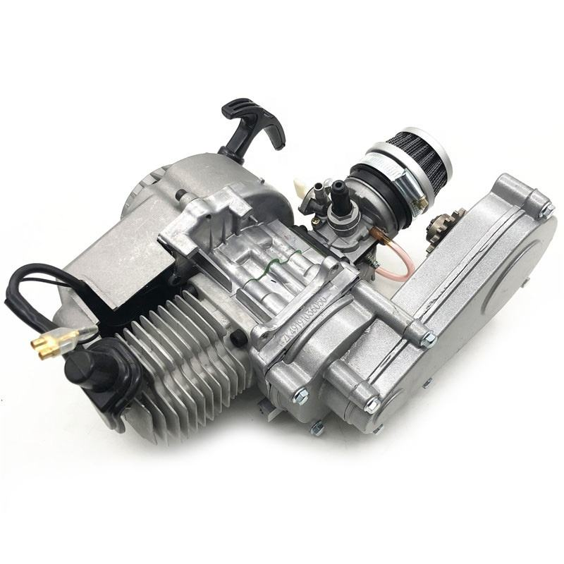 49cc 2ストロークEngine Motor With Reduction Gearbox T8F Chain DriveためMini Pocket Bike Scooter Dirt Bikes ATV Quad 44-6 Engine