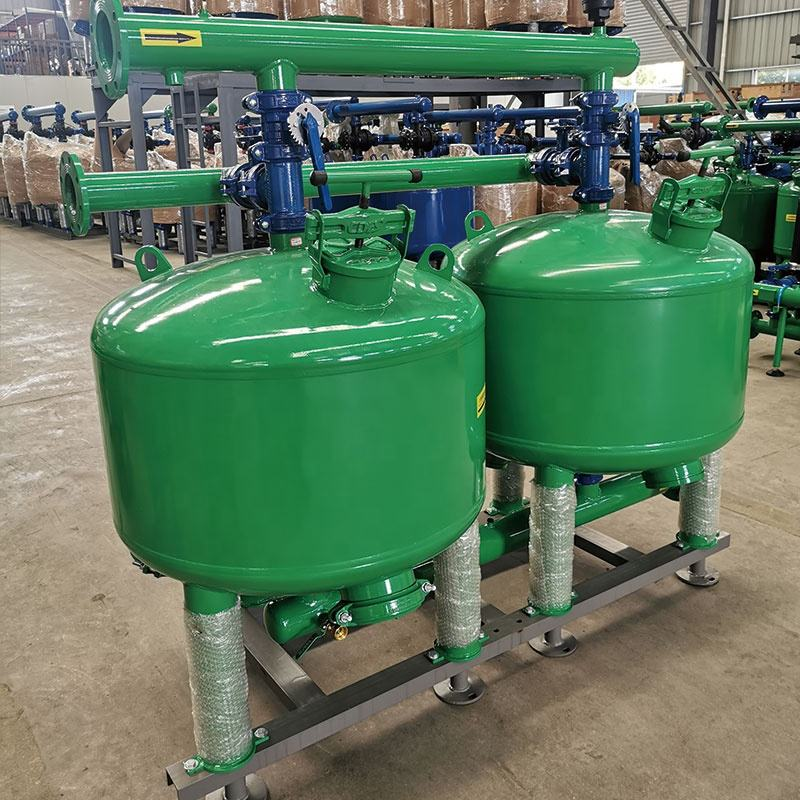 Sand Filter For Irrigation In Stock 60/100m3/h Auto Backwash Sand Filter For Irrigation