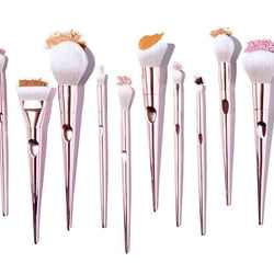 New 10 makeup brushes set eye shadow brush blush loose powder brush multifunctional beauty tool
