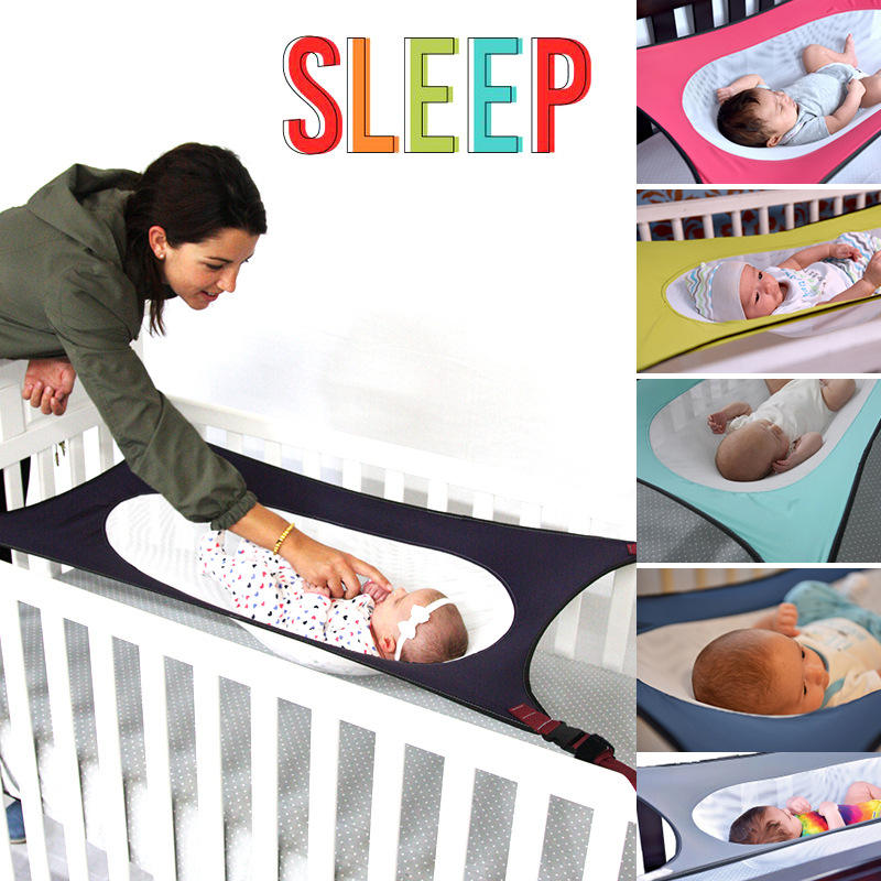 Popular style family removable portable breathable baby sleep hammock crib cradle