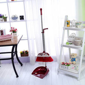 House Use Cleaning New Design Indoor Dust Free Indoor Broom With Stick