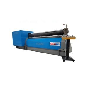 Manufacturer 3 rolls stainless sheet rolling machine