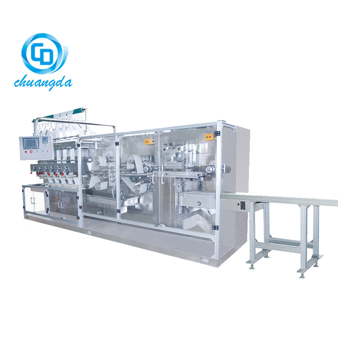 CD-180I Auto wet tissue folding manufacturing machine