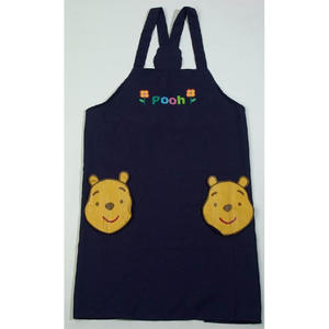Low price factory custom printed eco friendly cotton kitchen apron