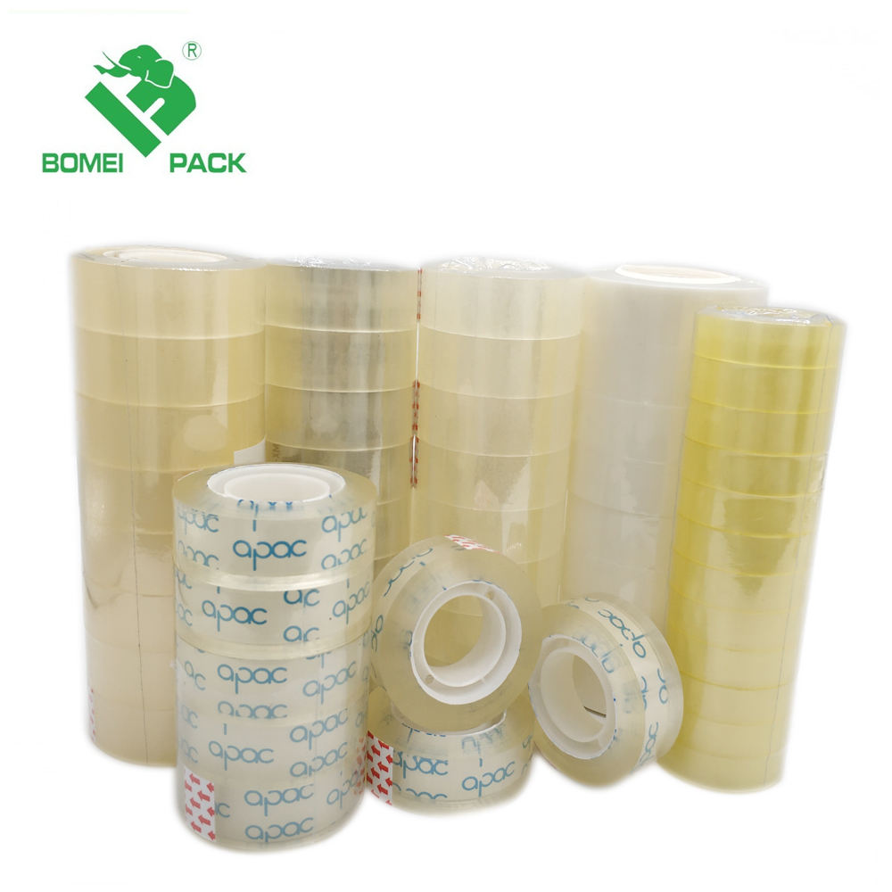 Bopp Packing Stationery Clear Adhesive Tape