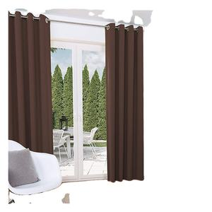 Boosly Newest Design Decoration Drape Blackout Bedroom Window Curtains