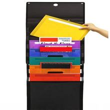 Office Stationery Wall File Organizer Expandable Hanging Folder