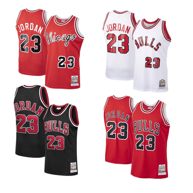 High Quality Cheap Price Basketball Team Embroidered Men's Bull #23 Jordan Jersey