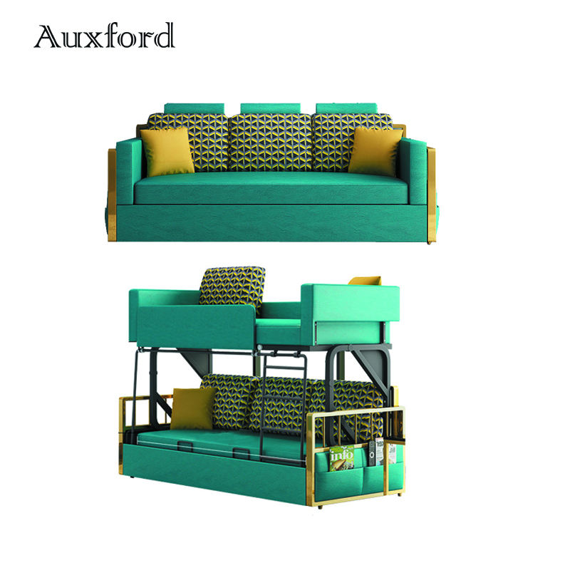 Multifunctional Folding Sofa Bed Double Bunk Beds for Kids living room and bedroom furniture