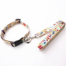 Wholesale safety eco-friendly luxury label dog collar and leash set for china pet supplies