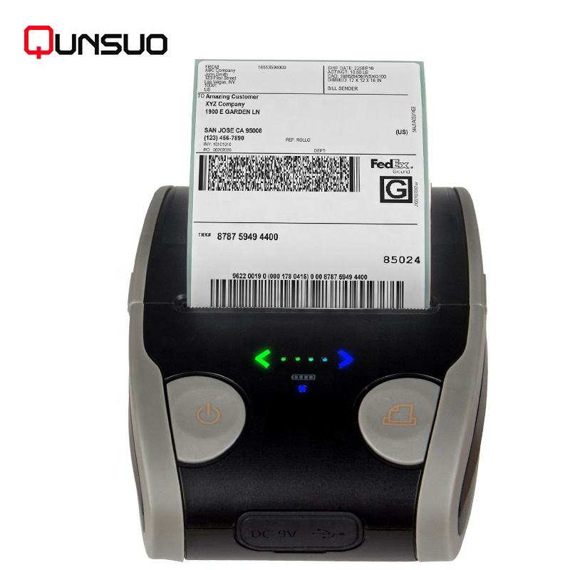 Portable Mini Handheld Thermal Label Printers