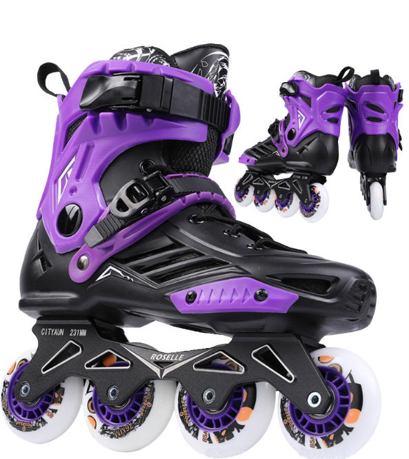 China Brand PP Skating Light Up Wheels Inline Skate Roller Shoes