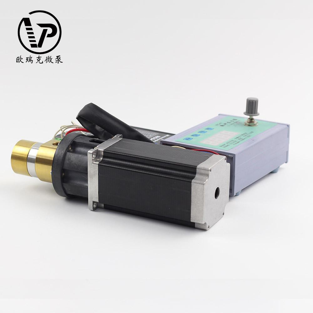 Flujo de 15 ~ 450 mL/Min Dc Mini aceite 50 W transferencia bomba de engranaje