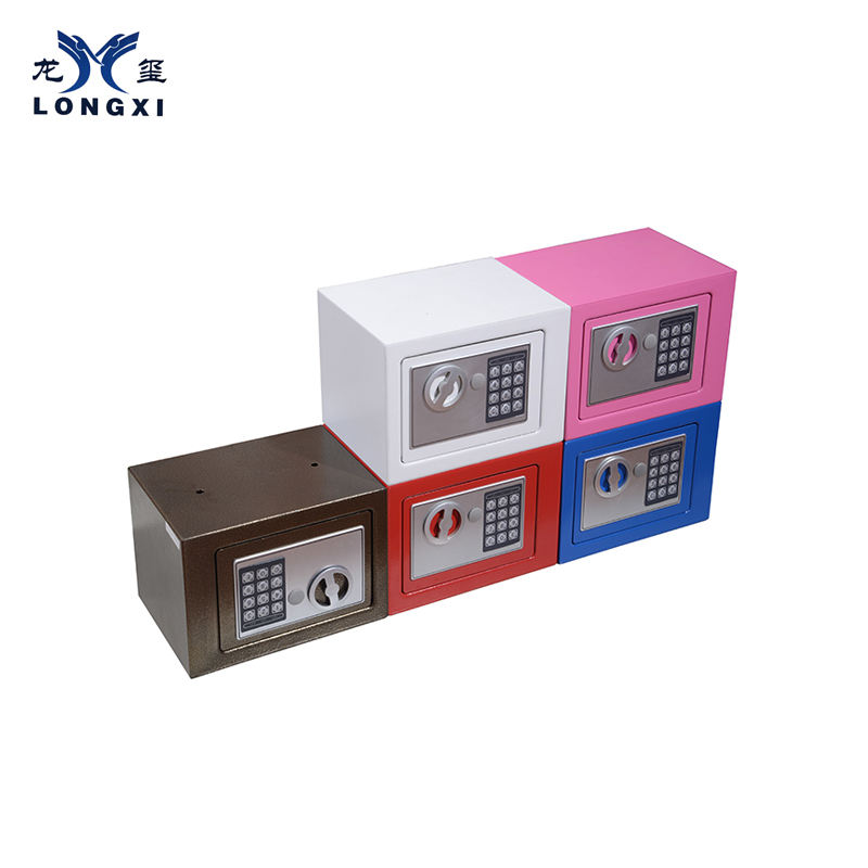 Factory direct sale personal colorful cheap small money safes and vaults