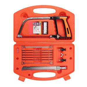 12PCS Set Multi-functional Magic Saw Mini Hand Saw Woodworking Glass Tile Metal Cutting Bow Saw Craft Hand Saw Kit
