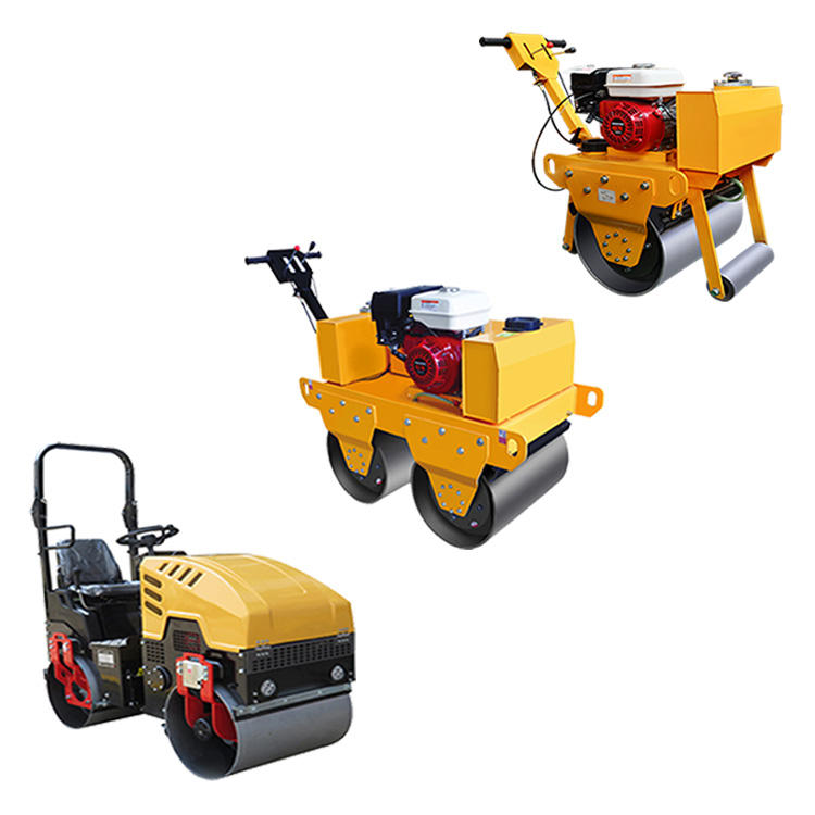 Manufacturer New Mini Vibratory Road Roller Compactor Price for Sale