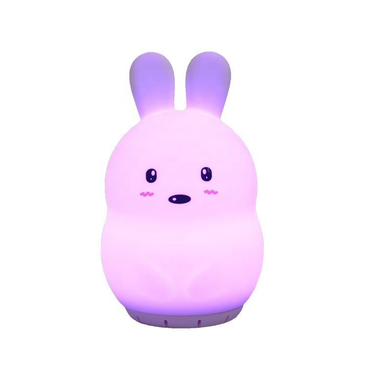 Home Theatre Rabbit led baby night light with music with speaker for kid