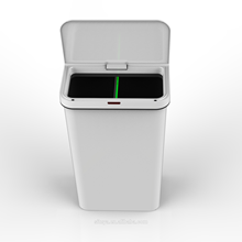 50L automatic electronic big dustbin plastic wholesale Kitchen  sensor plastic trash bins/garbage bin