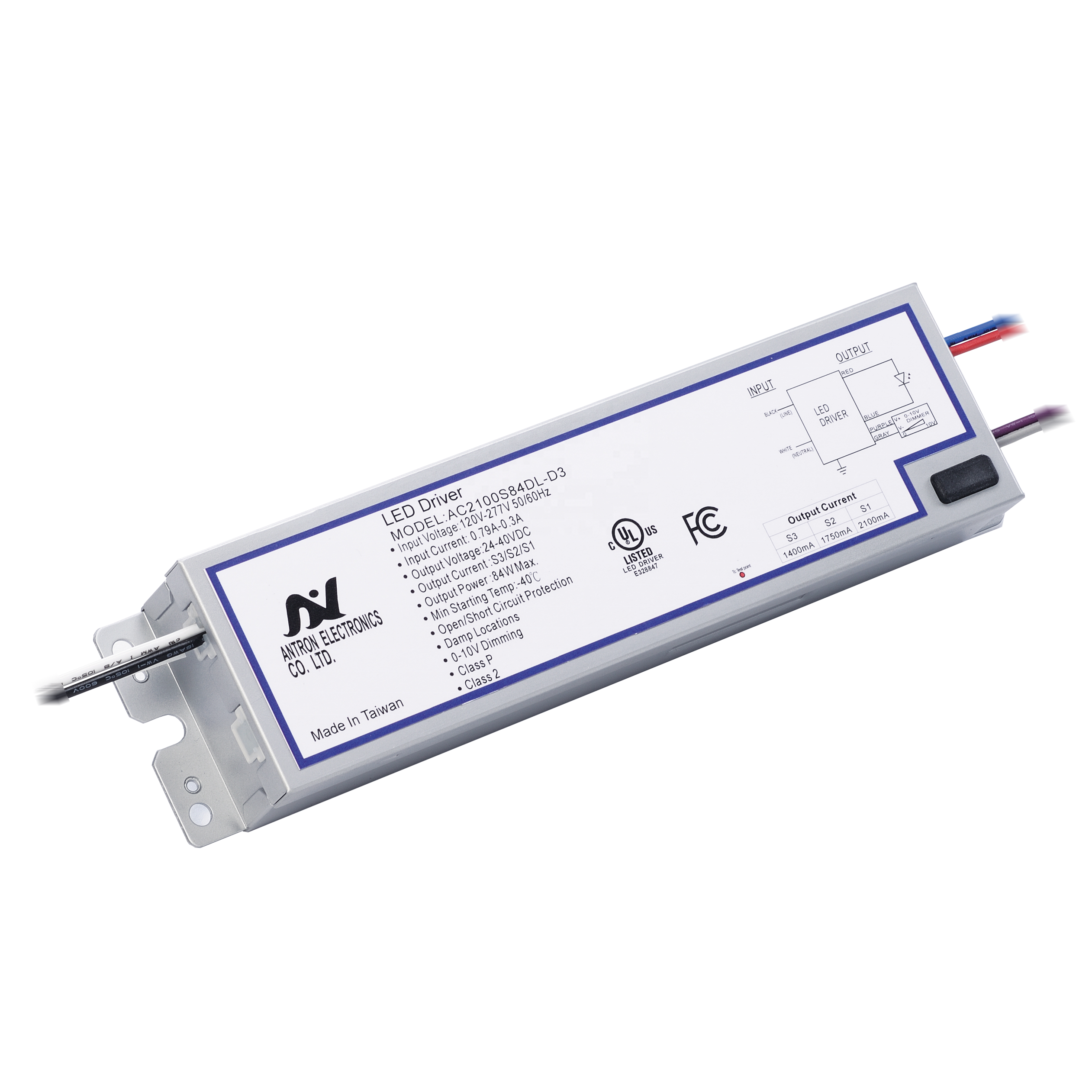 4 Power Options 98W Surge Protection LED Driver