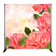 high quality advertising adjustable backdrop display step and repeat banner stand