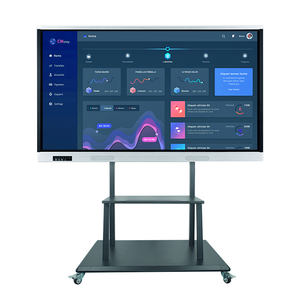 Factory price 55 65 75 86 inch touch screen interactive electronic lcd whiteboard prices for classroom use