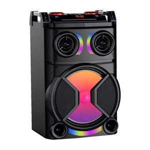 12inch Fashionable Party Portable Rechargeable Bluetooth DJ Speaker Trolley portable speaker with microphone