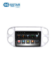 Bosstar 10.1 Inch Double Din Android Car Radio Audio Player for 2013-2015 Tiguan