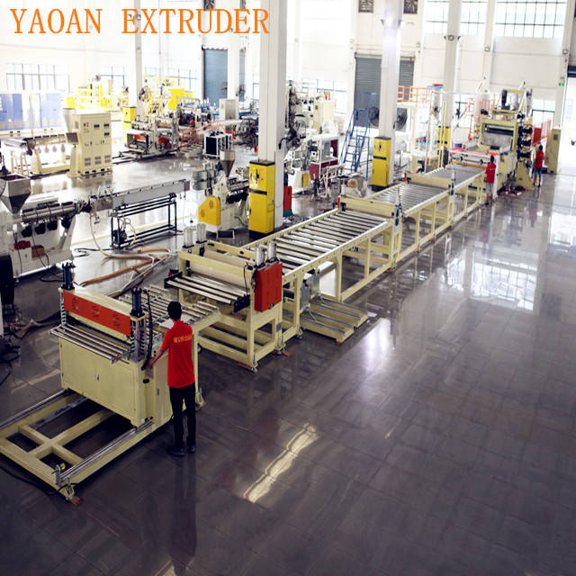 ABS/HIPS Refrigerator Sheet/Board Production Line , Refrigerator Sheet Extrusion Machine