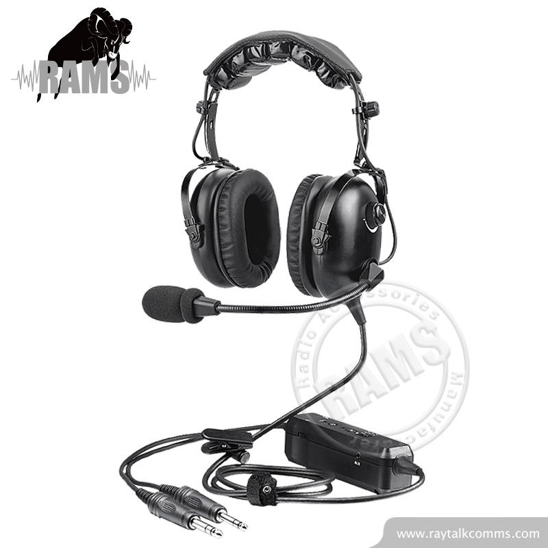 Heavy Duty Headphone ANR Aviation Headset For General Aircraft Use