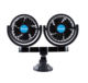 Auto Car 12v Car Fan MITCHELL Practical Multifunctional Accessary Auto Suction Cup Electric Car 12V/24V Double Cooling Car Fan