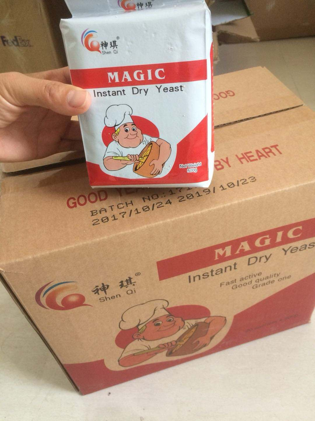 Magic Low Sugar Instant Dry Yeast 500g for bread