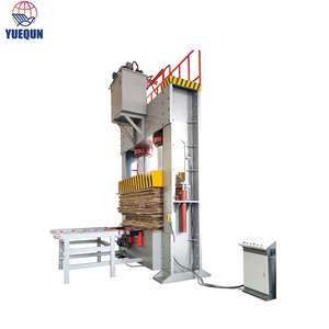 Shandong yuequn 500 Ton Cold Press Machine Plywood Woodworking Machinery