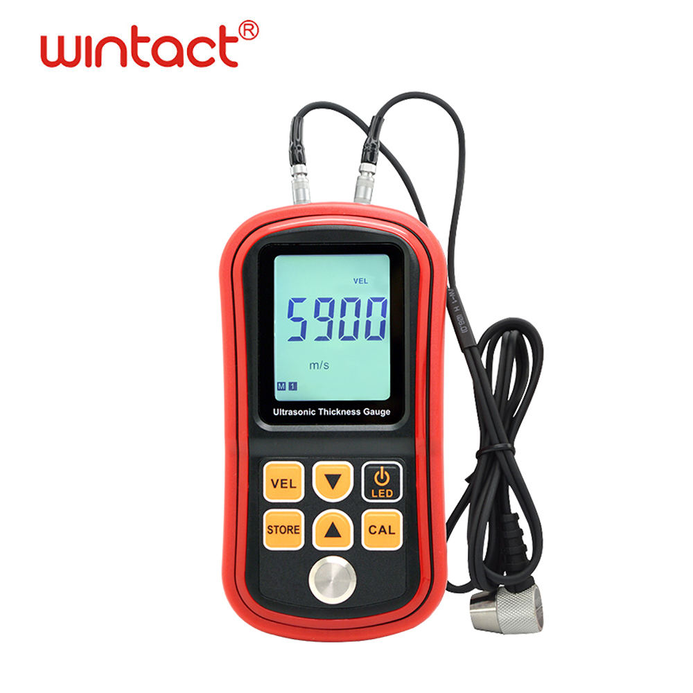 GM100+ Ultrasonic metal plastic plastic thickness gauge meter