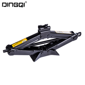 DingQi Best Self Used Car Scissor Jack Lift And Mechanical Scissor Jack Motors With Handles