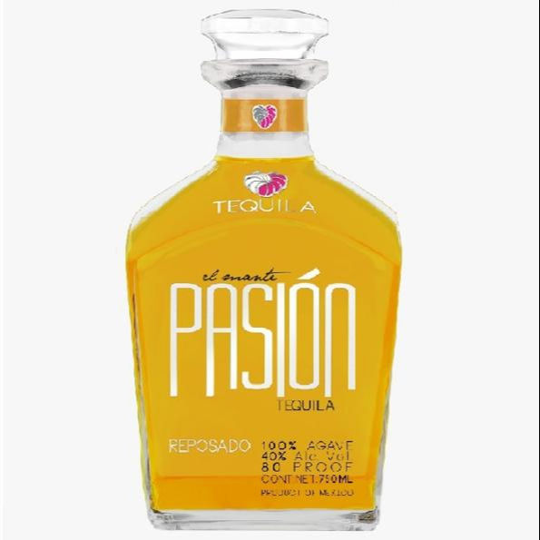 Alcoholic beverages distilled liquor El Mante Pasion Gold Tequila
