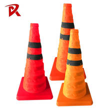 ABS PP base collapsible traffic safety road cone