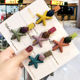 Starfish Hair Clips For Teen Girls Fashion Lover Star Hair Barrettes For Women Kids Baby