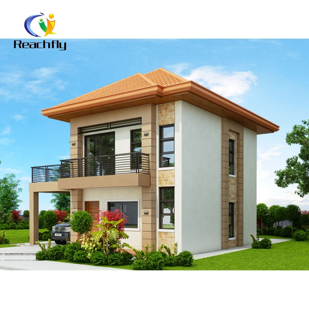 3 Bedrooms 2 Bathrooms Double Storey Prefab House