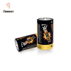 PAIRDEER private label r20 PVC metal battery heavy duty battery