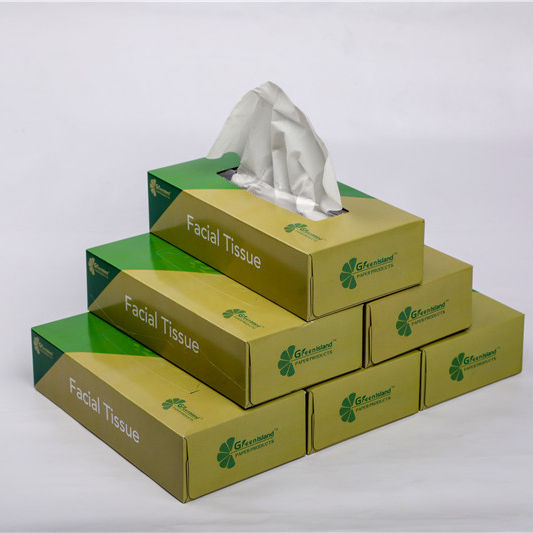 Cheap high quality facial tissue paper boxes