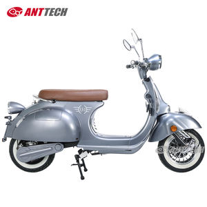 EEC vintage classic invisible lithium battery vespa model scooter 2000W USB port top store box