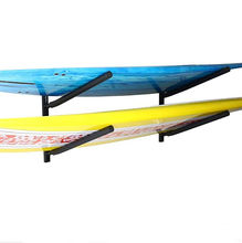 Double Wall Mount Rack with Angled Padded Arms for  Surfboards