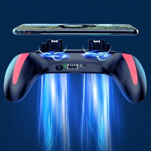 [USB] H10 Gamepad Pubg Controller Double Cool Fan Game-Controller Joystick Mobile Gamepad