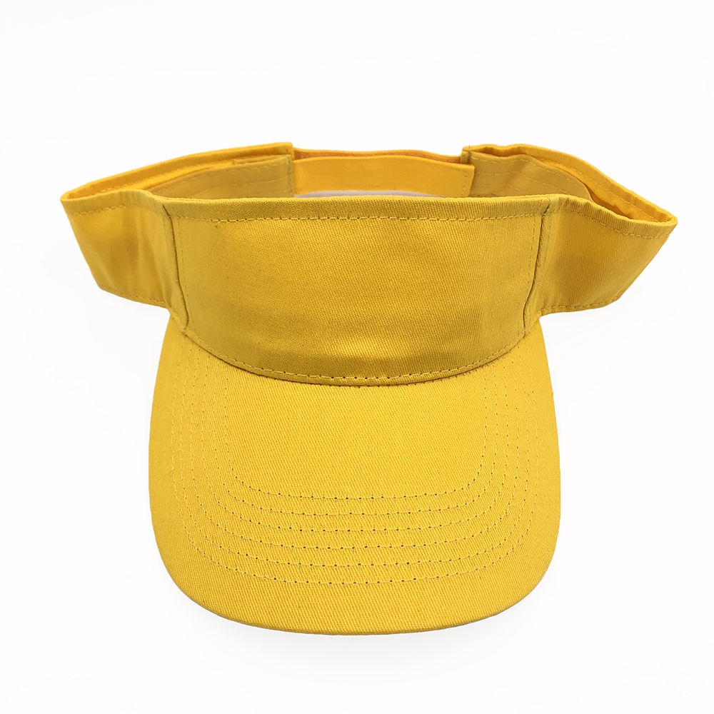 Summer sun visor cap many color available classic golf sports cap advertising visors