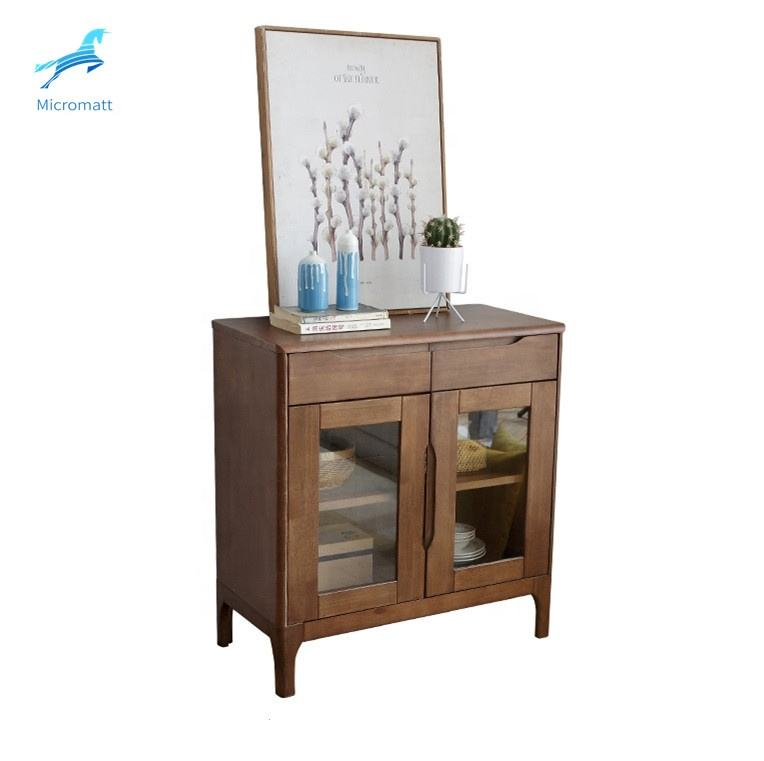 Professional factory high quality dinning solid wood furniture european style sideboard