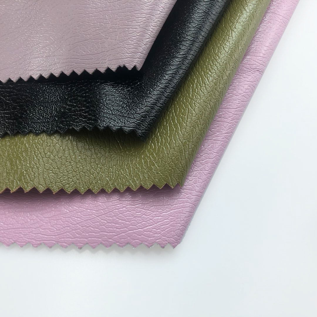 Colorful embossed PVC/PU artificial leather for sofa/shoe/garment
