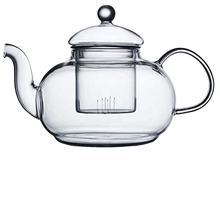 600ml/800ml Glass Teapot with Removable Infuser,Loose Leaf and Blooming Tea Maker,Flowering Tea Gift