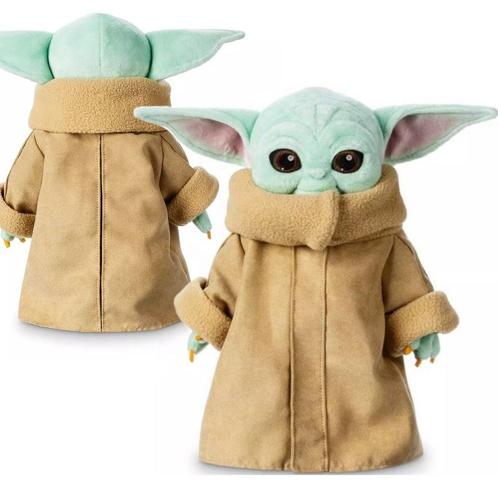 Stuffed Toy Animal Customized Plush Custom Star-Wars Blue Baby Yoda Plush Toys Soft Stuffed Animal Doll Yoda Kids Birthday Gift